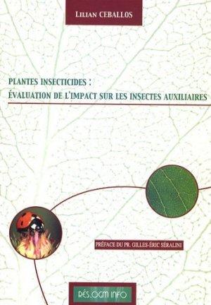 PGM insecticides : évaluation de l'impact sur les insectes auxiliaires - Editeurs divers - 9782746603769 -