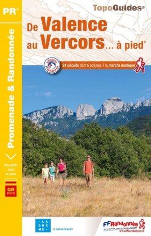 De Valence au Vercors... à pied - FFRandonnée - 9782751410345