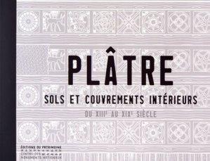Plâtre - du patrimoine - 9782757705278 -