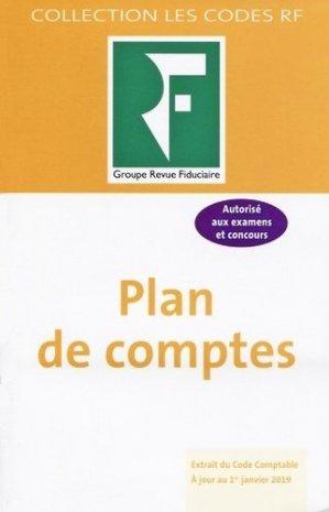 Plan de comptes - Groupe Revue Fiduciaire - 9782757909164 -