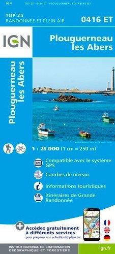 Plouguerneau, les Abers - Institut Géographique National - 9782758542520 -
