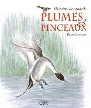 Plumes & pinceaux - quae  - 9782759210282 -