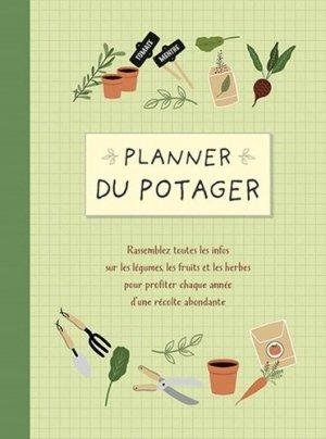 Planner du potager - chantecler - 9782803460410 -