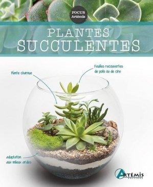 Plantes succulentes - artémis - 9782816014334 -