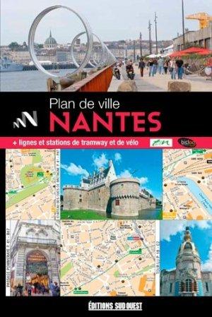 Plan de Nantes - sud ouest - 9782817705545 -