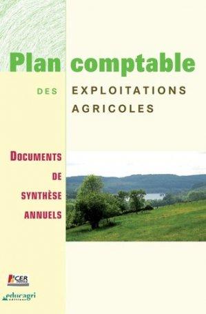 Plan comptable des exploitations agricoles Documents de synthèse annuels - educagri - 9782844445377 -