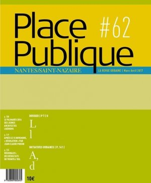 Place Publique N° 62 - Editions Joca Seria - 9782848092850 -