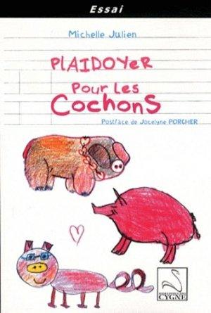 Plaidoyer pour les cochons - du cygne - 9782849242735 -