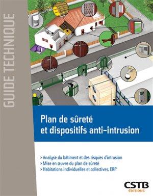 Plan de sécurité et dispositifs anti-intrusion - cstb  - 9782868916105 -