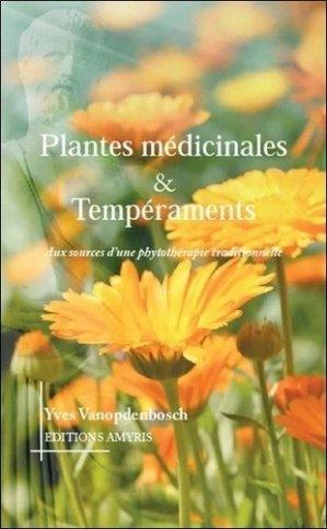 Plantes médicinales & tempéraments - amyris - 9782875521316 -