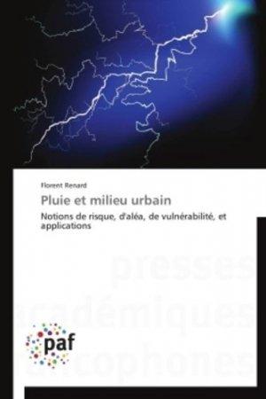 Pluie et milieu urbain - presses académiques francophones - 9783838188799 -