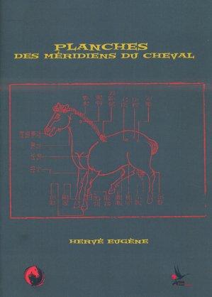 Planches des méridiens du cheval - herve eugene - 9791094448076 -