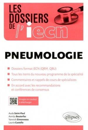 Pneumologie - ellipses - 9782340017726 -