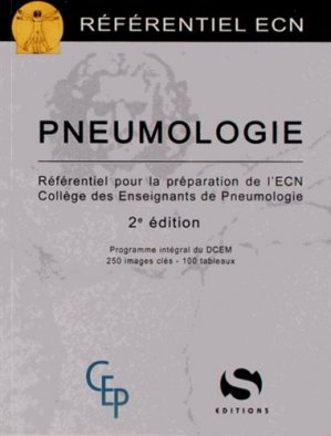 Pneumologie - s editions - 9782356401038 -