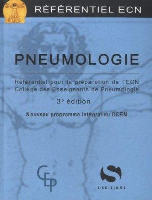 Pneumologie - s editions - 9782356401069 -