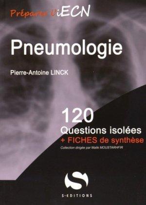 Pneumologie - s editions - 9782356401397 -