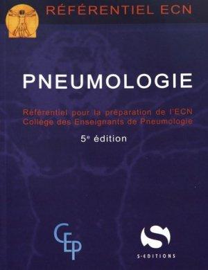 Pneumologie - s editions - 9782356401670 -