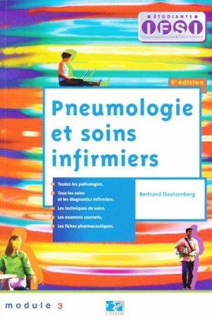 Pneumologie et soins infirmiers - lamarre - 9782757301944