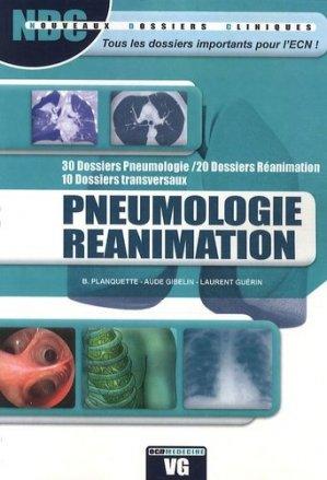 Pneumologie réanimation - vernazobres grego - 9782818301029 -