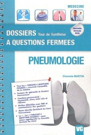 Pneumologie - vernazobres grego - 9782818304556 -