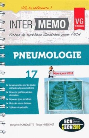 Pneumologie - vernazobres grego - 9782818310663