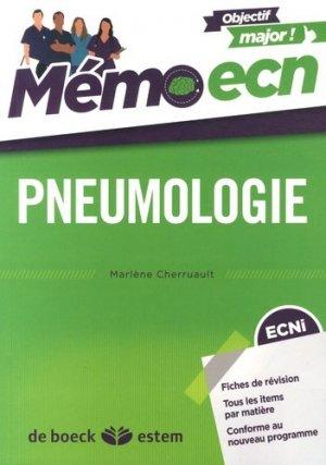 Pneumologie - estem - 9782843717642 -
