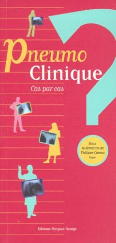 Pneumo clinique - margaux orange - 9782950963482 -
