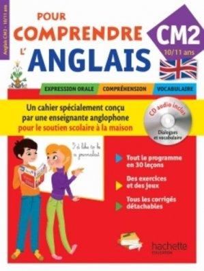 Pour comprendre l'anglais CM2 - Hachette - 9782011714428 -