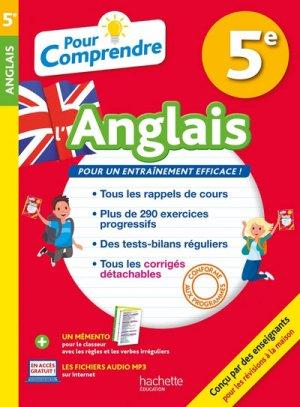POUR COMPRENDRE ANGLAIS 5E  - HACHETTE - 9782017013921 -