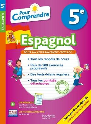 Pour Comprendre Espagnol 5E - hachette - 9782017013952 -