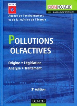 Pollutions olfactives - dunod - 9782100517121 -