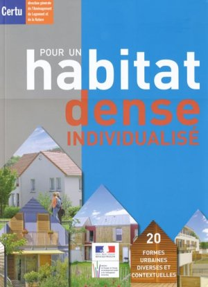 Pour un habitat dense individualisé - certu - 9782110981813 -