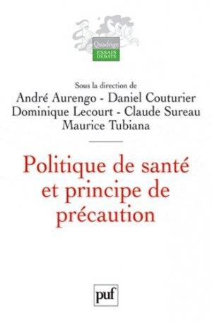 Politique de santé et principe de précaution - puf - presses universitaires de france - 9782130589860 -