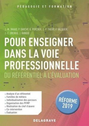 Pour enseigner dans la voie professionnelle - Delagrave - 9782206104119 -