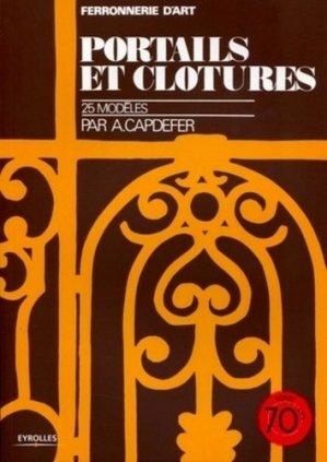Portails et clôtures - eyrolles - 9782212129137 -