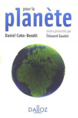 Pour la planète - dalloz - 9782247082872 -