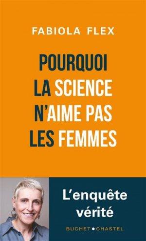 Pourquoi la Science n'aime pas les femmes - buchet chastel - 9782283034972 -