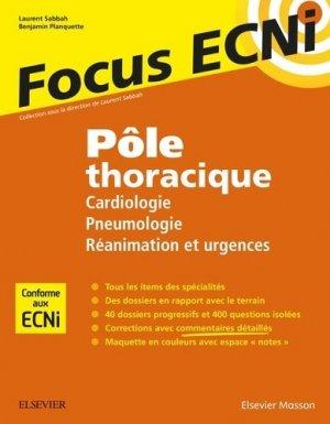 Pôle thoracique - elsevier / masson - 9782294748615 -