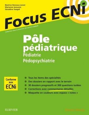 Pôle pédiatrique - elsevier / masson - 9782294748769 -