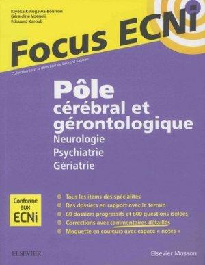 Pôle cérébral et gérontologique - elsevier / masson - 9782294750502 -
