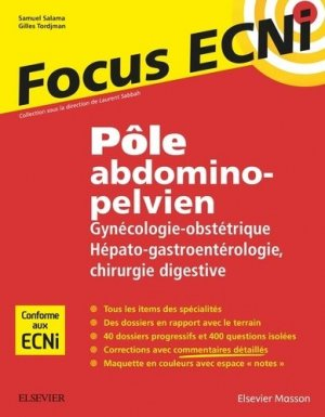 Pôle abdomino-pelvien - elsevier / masson - 9782294754784 -