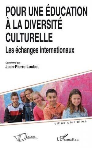 Pour une éducation à la diversité culturelle - l'harmattan - 9782296120938 -