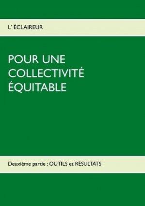 Pour une collectivité équitable - Books on Demand Editions - 9782322103430 -