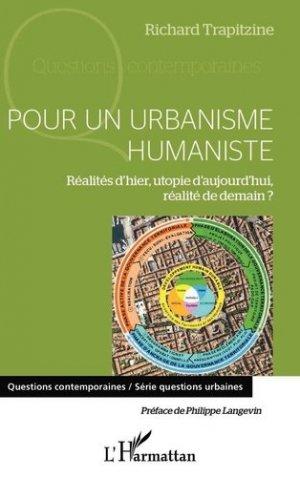 Pour un urbanisme humaniste - l'harmattan - 9782343153070 -