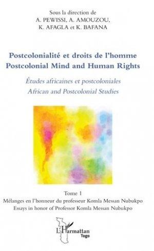 Postcolonialité et droits de l'Homme - l'harmattan - 9782343164939 -