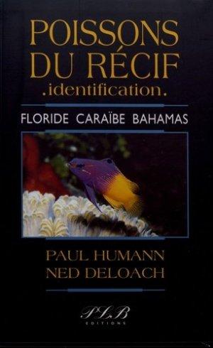 Poissons du récif, identification - plb - 9782353651078 -