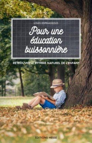 Pour une éducation buissonnière - hesse - 9782357060449 -