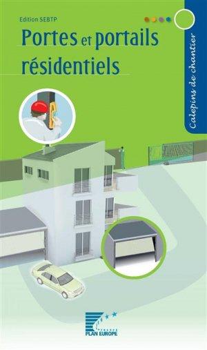 Portes et portails résidentiels - sebtp - 9782359171440 -