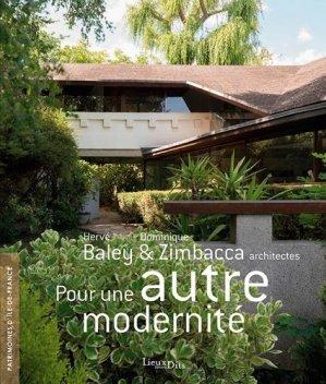 Pour une autre modernité - lieux dits - 9782362191619 -