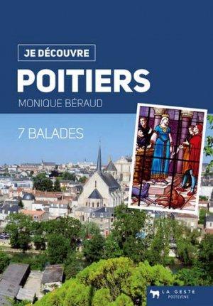 Poitiers : 7 balades - geste - 9782367469812 -